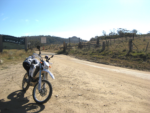 Bobeyan Rd, on the ACT/NSW border