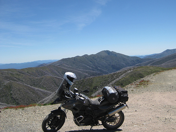 Photo of the view from just past Mount Hotham