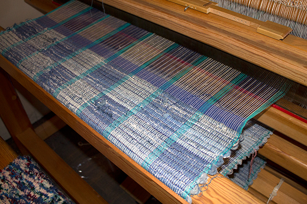 Finished weaving