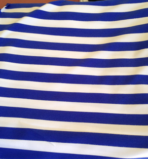 Gorgeous cotton stretch stripe fabric